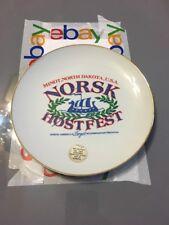 Minot, North Dakota , U.S.A.  NORSK HOSTFEST Plate North America's Largest