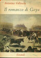 VALLENTIN Antonina, Il romanzo di Goya