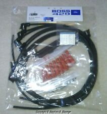 New Boss 429 Mustang spark plug wire set, dated:  3Q-69. NOS silver number tags!