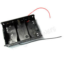 1 PC Battery Box Clip Holder Case 3 x Size D R20 HR20 with 6'' Wire Leads