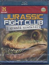 Blu-ray Disc **JURASSIC FIGHT CLUB** i grandi predatori Nuovo Sigillato 2008