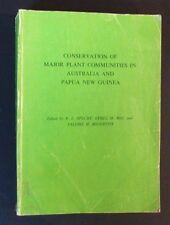 Conservation Of Major Plant Communities In Australia & Papua New Guinea