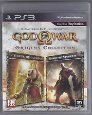 God of War Origins Collection PS3 GAME Chinese/English *VGWC!* + Warranty!