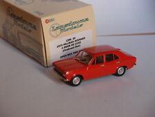 1970 HILLMAN AVENGER 4 DOOR DELUXE FIREBRAND RED LANSDOWNE MODELS LDM 35 1/43