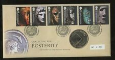 PHILATELIC NUMISMATIC FDC 2003 BRITISH MUSEUM