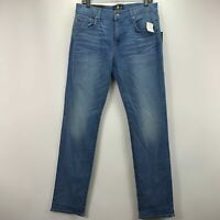 7 For All Mankind Mens The Straight Tapered Luxe Performance Jeans 32