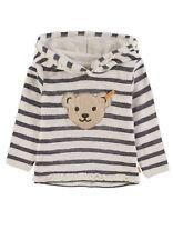 STEIFF Hoodie Sweatshirt gestreift Ringel marine weiss Mini Girl 6913053 NEU