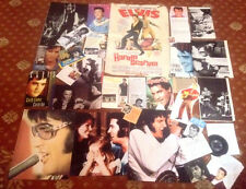 ELVIS PRESLEY cuttings clippings pages pictures #2