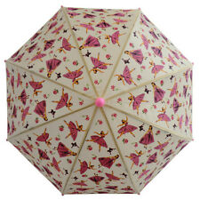 Powell Craft kids umbrella-Vintage Ballerina -Dancing girls /pink & cream