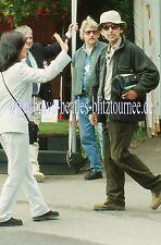 George Harrison 3 slides Chelsea Flower Show 1999 Beatles not signed Press Promo