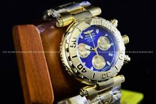 Invicta 47mm Limited Ed Subaqua Noma I Next Gent Swiss Chrono Gold Blue Watch