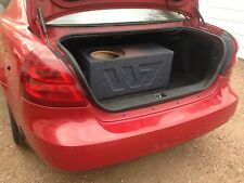 """JL Audio 10"""" 10w7 10w7AE Sub Custom Aero Ported Subwoofer Box Birch Wood"""