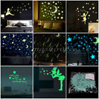 Wall Glow In The Dark Stars Stickers Kids Bedroom Nursery Room Ceiling Decor DIY