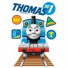 THOMAS THE TANK ENGINE NO1 MAXI STICKER 100cm x 70 cm KIDS FOR DOOR WALL