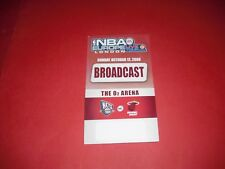 2008 NBA EUROPE TOUR NEW JERSEY JETS V MIAMI HEAT BASKETBALL TICKET