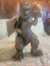 Godzilla Clear Translucent Grey Large Scale Bandai 2001 2002 Otaku Japan w Tag!!