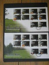 NEW ZEALAND FDC-2007 CLASSIC KIWI(2 Covers) SG 2962/81
