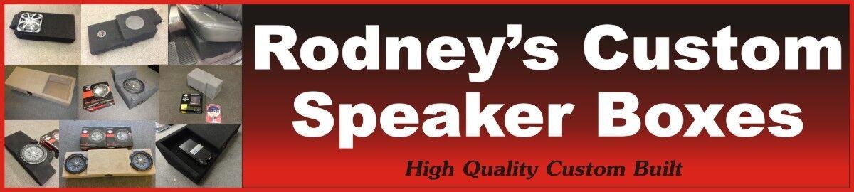 Rodneys Custom Speaker Boxes