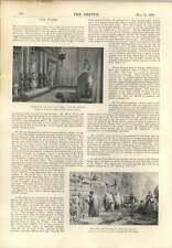 1896 notas de arte William Simpson y pasión Flores Prescott Davies