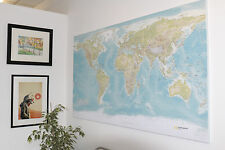 Huge World Wall Map (Not Ikea) 72 inch X 40 inch! SALE!!
