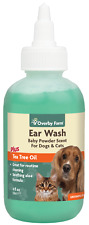 Ear Wash For Cat & Dog Liquid | Natural Cleaner | Natural | 118ml | Overby Farm