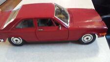 Burago Rolls-Royce Camargue Diecast Model Car - 1:22 Scale Burgundy 1975
