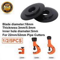 Replacement Pipe Cutter Tube Tubing Cutting Wheels  Plumbing  1/2/5x 22mm/32mm