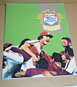 1980 PHILADELPHIA PHILLIES BASEBALL 10TH REUNION 1980 WORLD CHAMPS SCHMIDT BOWA