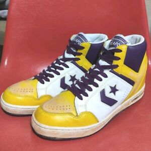 Converse Weapon Vintage Weapon Lakers Color multi US8.5 Used Men from japan