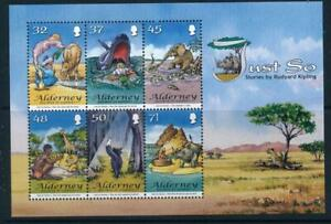Alderney 2007 Just so stories Mini Sheet MSA38 MNH