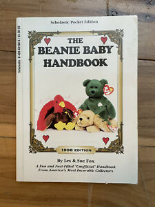 The Beanie Baby Handbook 1998 Scholastic Pocket Edition by Les & Sue Fox Vintage