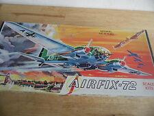 Vintage Airfix Kit 3-98 1/72 Heinkel HE111 (EE. UU. problema)