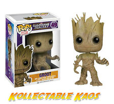 Guardians of the Galaxy - Groot Pop! Vinyl Bobble Head Figure #49