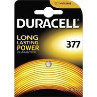 DURACELL 1 pile 377 / 376  Duracell - pile SR626sw Oxyde d'argent SR66 1,5 VOLT