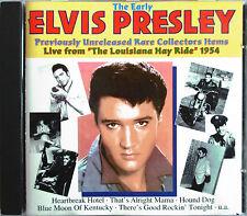 """ELVIS PRESLEY - CD """"THE EARLY ELVIS PRESLEY - LIVE AT LOUISANA HAYRIDE"""""""