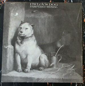 ♫ LP 1976 / 1980s RE PAVLOV´S DOG - Pampered Menial  CBS 32480  RED LABELS  NM ♫