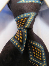 Mens Hugo Boss Black Silk Tie Made in Italy A29678