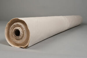 """White 5 x Metres Cambric Cotton Down Proof Fabric White Cotton 90"""" Width"""