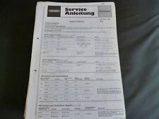 Original Service Manual Grundig CITY-BOY 1100