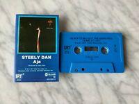 Steely Dan Aja CASSETTE Tape Blue Shell 1977 ABC AB1006 H Donald Fagen RARE! OOP