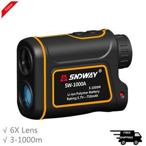 3-1000m Golf Laser Range Finder Distance Rangefinder Outdoor Sports SW-1000A