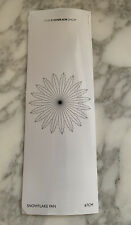 The Conran Shop Christmas Snowflake Fan Hanging Decoration 67cm Diam RRP £16.95