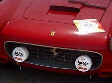 Ferrari Marchal fog light covers ORIGINAL NOS