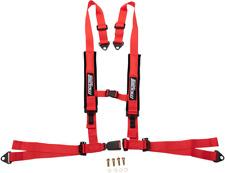 Moose Utility UTV Red 4 Point Seat belt Harness Restraint Safety System