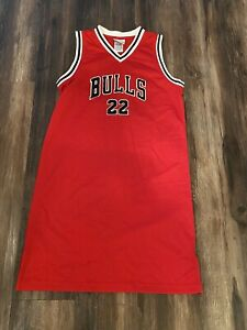 Chicago Bulls Vintage Reebok Jay Williams Red Jersey Dress Women's L