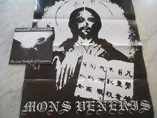"""Mons Veneris - The Last Twilight Of Existence 7"""" EP + BIG POSTERNEW+++ ULTRARARE"""