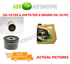 PETROL OIL AIR FILTER + FS F 5W30 OIL FOR FORD TOURNEO CONNECT 1.6 150BHP 2013-