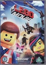 The Lego Movie on DVD - Hilarious for all ages!  New and sealed.  (PAL/region 2)