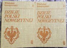 DZIEJE POLSKI NOWOZYTNEJ Wladyslaw Konopczynski | Hardback 1986 | antykwariat