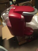 Keurig K-Compact Single-Serve K-Cup Pod Coffee Maker, Imperial Red - Free Ship